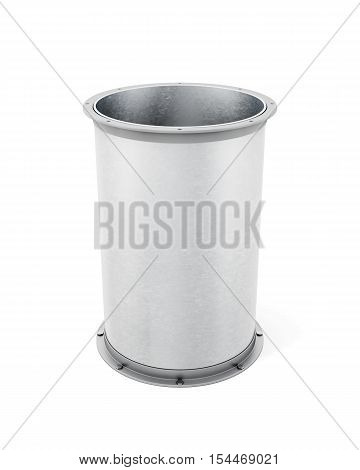 Vent Pipe Is Isolated On A White Background. 3D Rendering