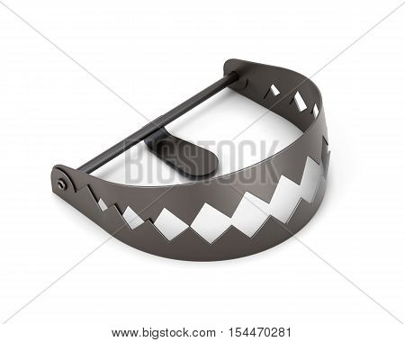 Trap Isolated On A White Background. 3D Rendering