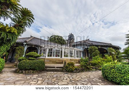 NAGASAKI,JAPAN - AUGUST, 21 : Glover Garden is located on the Minamiyamate hillside overlooking Nagasaki harbor on August 21, 2015