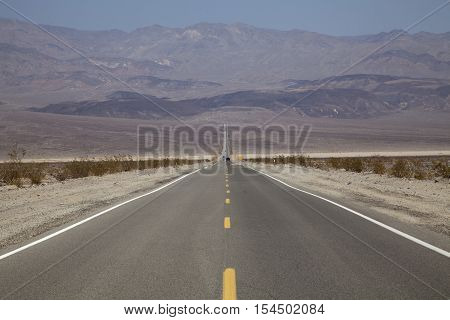 The road to Death Valley, California, USA