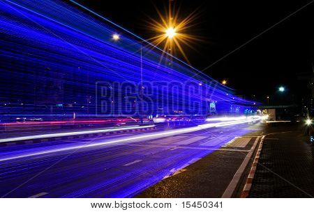 Color Lights Of The Vehicle