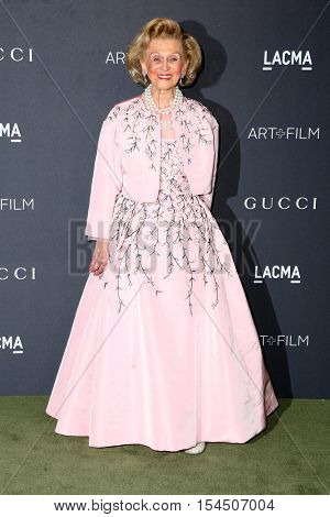 LOS ANGELES - OCT 29:  Barbara Davis at the 2016 LACMA Art + Film Gala at Los Angeels Country Museum of Art on October 29, 2016 in Los Angeles, CA