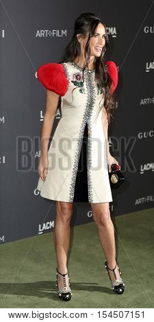 LOS ANGELES - OCT 29:  Demi Moore at the 2016 LACMA Art + Film Gala at Los Angeels Country Museum of Art on October 29, 2016 in Los Angeles, CA