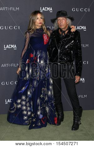 LOS ANGELES - OCT 29:  Erica Pelosini, James Goldstein at the 2016 LACMA Art + Film Gala at Los Angeels Country Museum of Art on October 29, 2016 in Los Angeles, CA