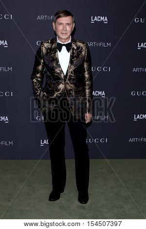LOS ANGELES - OCT 29:  Eugene Sadovoy at the 2016 LACMA Art + Film Gala at Los Angeels Country Museum of Art on October 29, 2016 in Los Angeles, CA