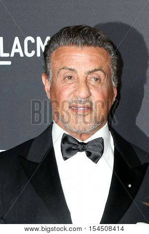 LOS ANGELES - OCT 29:  Sylvester Stallone at the 2016 LACMA Art + Film Gala at Los Angeels Country Museum of Art on October 29, 2016 in Los Angeles, CA