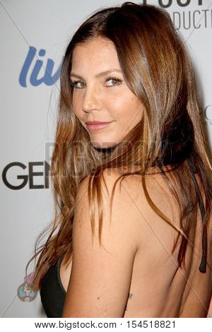 Charisma Carpenter arrives at the