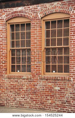 This is a photo of two windows.
