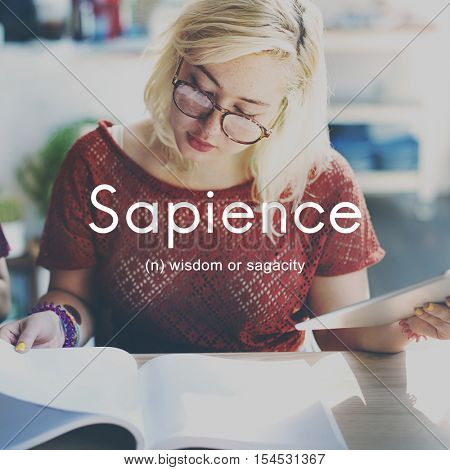 Sapience Highly Educated People Graphic Concept