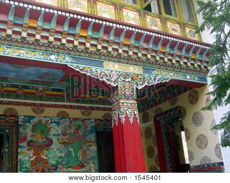 Monastery Red Pillar