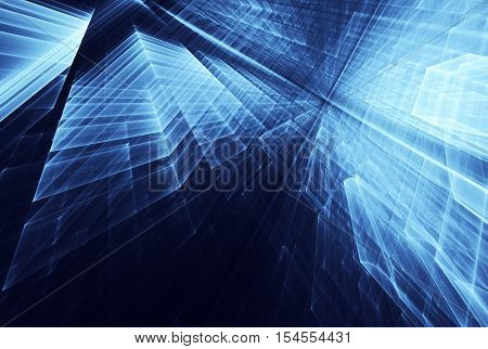 abstract fractal background a computer-generated 2D illustration