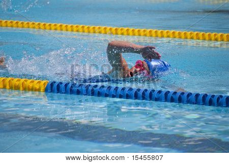 Girl Swimming
