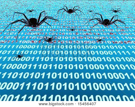 Penetration into a computer of a virus from Internet