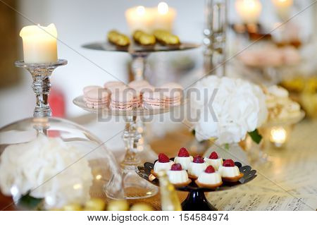 Beautiful Desserts, Sweets And Candy Table