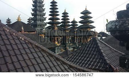 Pura Besakih Mother Temple Bali Indonesia Hindu