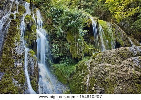 Amazing landscape of Krushuna Waterfalls, Balkan Mountains, Bulgaria