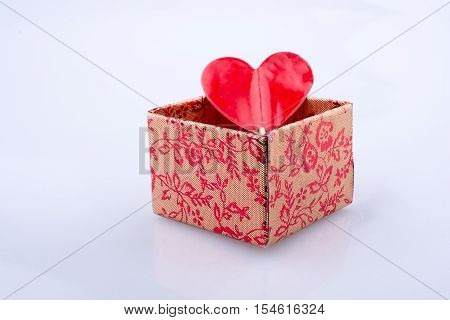 Heart Shape Icon In A Gift Box