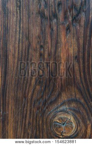 Retro Wood Texture Dark Plank Background