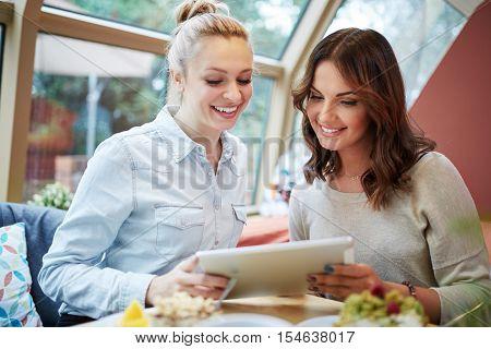 Friends Doing Online Shopping