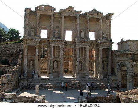 Library Celsus Ephesus Turkey Selcuk Anatolia region