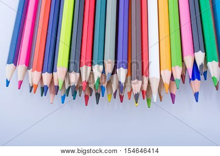 Color Pencils Of Various Colors