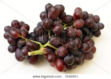 Black Grapes. Fruit. Healthy Food