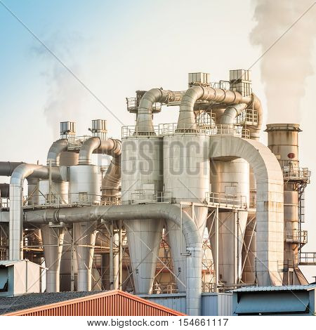 Industrial Plant Of A Furniture Factory