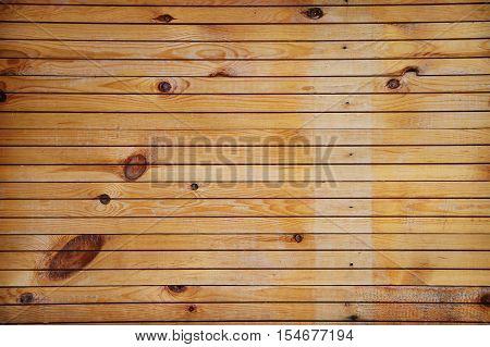 Grunge wooden background. Old and worn wooden plank