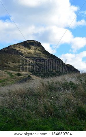 A beautiful look at Arthur's Seat in Scotland.