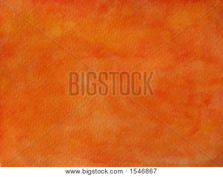 Red And Orange Hand Painted Background