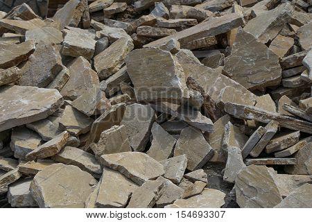 Background Full Of Same Type Of Stones