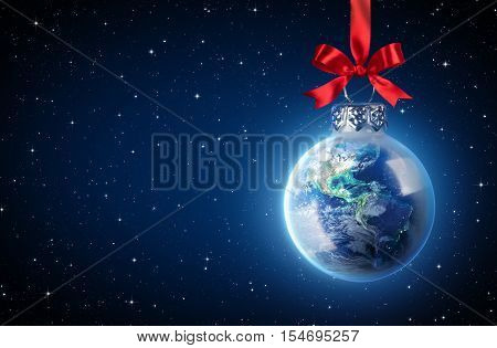 Peaceful Christmas All Over The World - Earth Ball