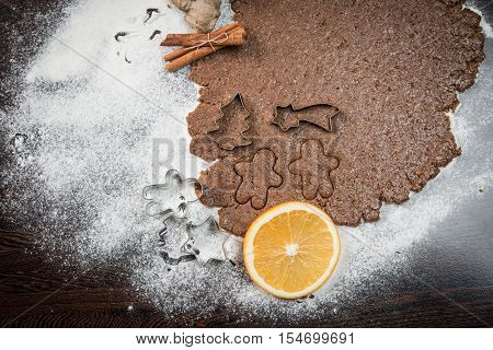 Gingerbread, Christmas, Holiday, Food, Sweet, Decoration, Winter, Dessert, Background, Traditional,