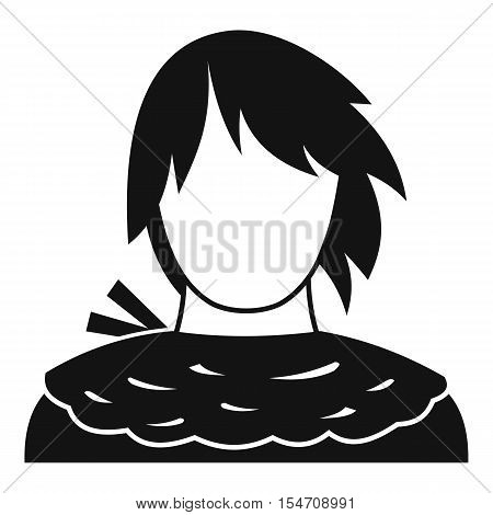 Male shorn icon. Simple illustration of male shorn vector icon for web