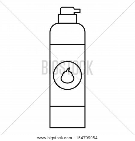 Air freshener icon. Outline illustration of air freshener vector icon for web
