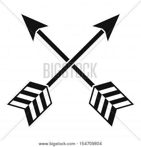 Arrows LGBT icon. Simple illustration of arrows LGBT vector icon for web