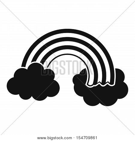 Rainbow LGBT icon. Simple illustration of rainbow LGBT vector icon for web