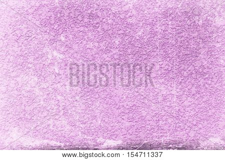abstract old Purple grunge cement wall textured background