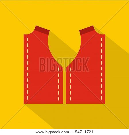 Pattern for sewing icon. Flat illustration of pattern for sewing vector icon for web
