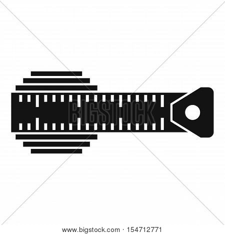 Measuring centimeter icon. Simple illustration of measuring centimeter vector icon for web