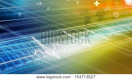 Medical Abstract News Background Abstract Background Suitable for Healthcare and Medical News Topic