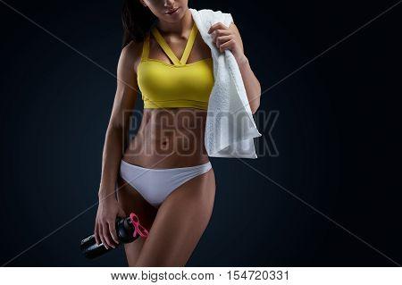 Beautiful Slim Healthy Body