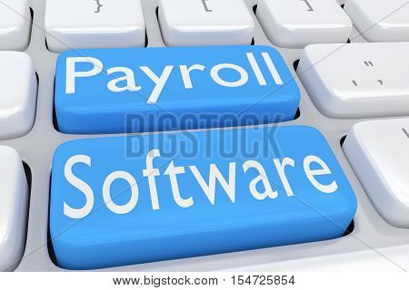 Payroll Software Concept