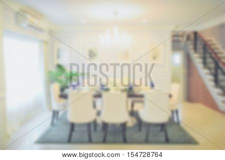 Defocus classic style dining table in the dining room