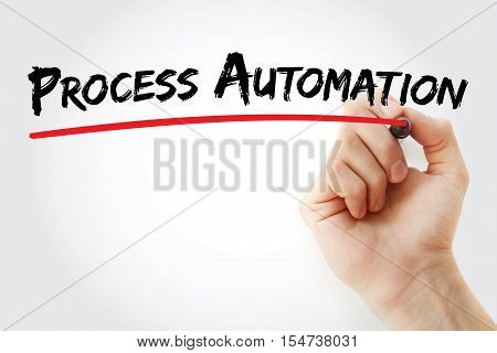 Hand Writing Process Automation With Marker
