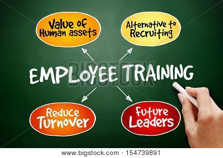 Hand Drawn Employee Training