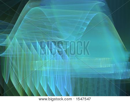 Abstract Digital Transparant Background
