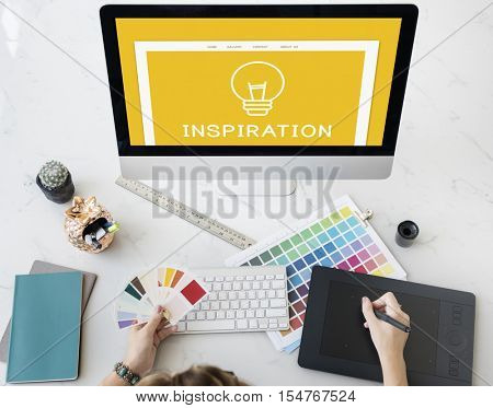 Ideas Creation Design Inspiration Vision Concept