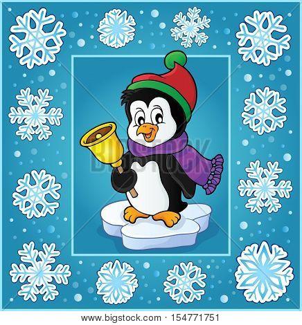 Christmas subject greeting card 6 - eps10 vector illustration.