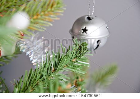 Decorative Ball Bell On Christmas Tree